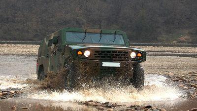 Hình ảnh chi tiết KLTV - Dòng xe quân sự ít được biết đến của Kia