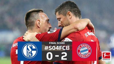 Schalke 0-2 Bayern Munich: Sân khấu của James Rodriguez