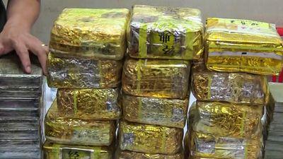 Nhóm người ngoại quốc vận chuyển 20 bánh heroin trên ôtô bán tải