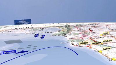 Video 3D tái hiện khoảnh khắc máy bay Il-20 của Nga bị bắn hạ ở Syria