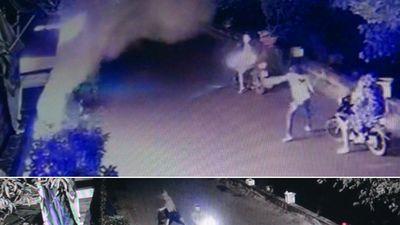 'Mật phục' bắt quả tang kẻ ném 'bom bẩn' vào nhà dân