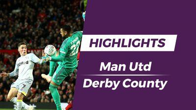Highlights Man Utd - Derby County: Thủ môn Romero mắc lỗi nghiêm trọng