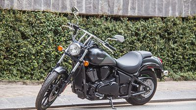 Cận cảnh Kawasaki Vulcan 900 giá hơn 400 triệu tại Sài Gòn