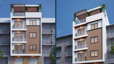 10 mẫu nhà phố 5 tầng hiện đại phổ biến nhất hiện nay
