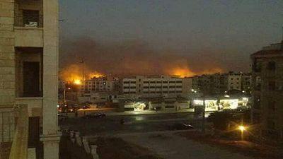 Thua nhiều mặt trận, khủng bố oanh kích dữ dội thành phố Aleppo