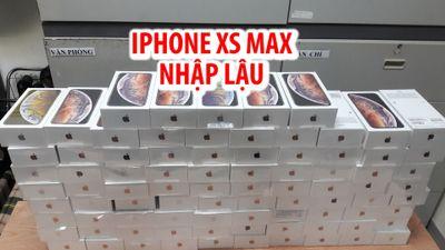 Cận cảnh hàng trăm iPhone Xs Max nhập lậu vào Việt Nam