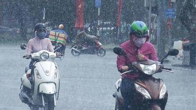 Tin không khí lạnh ngày 26/9: Cảnh báo mưa lớn diện rộng khu vực Bắc Bộ