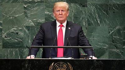 5 điểm mấu chốt trong phát biểu của ông Trump tại Đại hội đồng LHQ