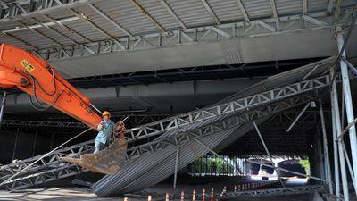 Tài xế xe tải kéo sập giàn giáo ở hầm Thủ Thiêm không hề hay biết khi tai nạn xảy ra