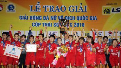 Đánh bại chủ nhà TP.HCM I, Phong Phú Hà Nam lần đầu tiên lên ngôi vô địch