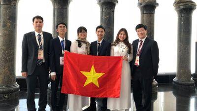 Chi tiết thành tích chưa từng có của học sinh Việt tham dự Olympic quốc tế, khu vực năm 2018