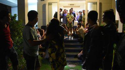 Tổ chức tiệc sinh nhật bằng ma túy, một phụ nữ mang bầu cùng nhóm thanh niên bị bắt quả tang