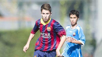 Những tuyệt phẩm của các cầu thủ nhí Barcelona
