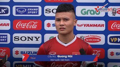 Quang Hải: 'Ngôi đầu bảng trong tầm tay Việt Nam'