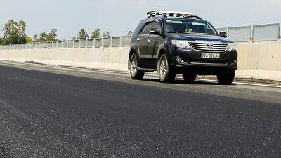 Khắc phục xong điểm hư hỏng ở cao tốc 34.500 tỷ Đà Nẵng - Quảng Ngãi