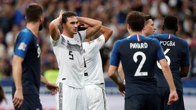 Thua ngược Pháp, Đức có thể phải xuống hạng ở Nations League