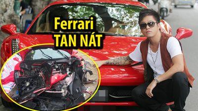 Tuấn Hưng nói gì về tai nạn khiến siêu xe Ferrari tan nát?