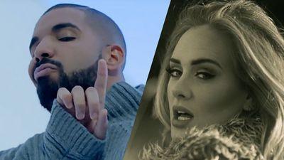 Adele bất ngờ đến tham dự concert của Drake, phản ứng của anh chàng khiến khán giả… ôm bụng cười