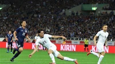 Nhật Bản xuất sắc đánh bại Uruguay trong trận cầu 7 bàn thắng