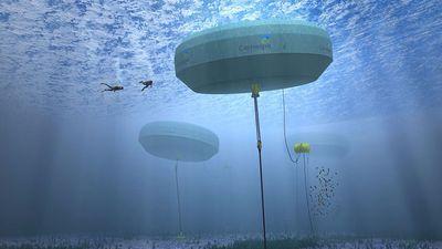 Clip: 'Tận mục' mô hình sản xuất điện từ sóng biển đầu tiên trên thế giới