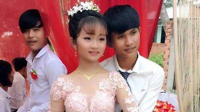 Clip: 'Phát hoảng' với đám cưới 'trai 14 - gái 12' tại Tây Ninh