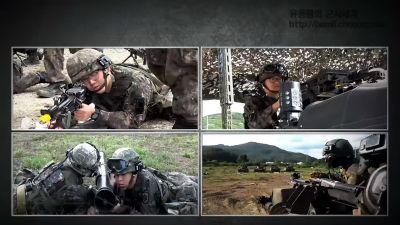 Diễn tập kỹ thuật số của Hàn Quốc với xe tăng T-80U và M48A5K