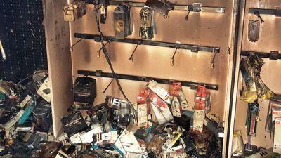 Cháy cửa hàng điện thoại trong đêm, thiệt hại hàng tỷ đồng