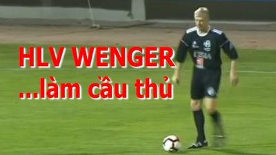 Chán huấn luyện, HLV Wenger trở lại làm cầu thủ cùng Deschamps