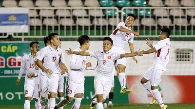Clip: Pha làm bàn của Mạnh Dũng vào lưới U19 Jordan