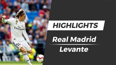 Highlights Real Madrid thua sốc Levante