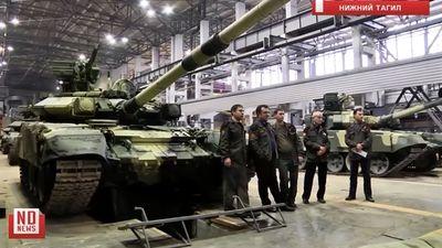 Lộ hệ thống phòng vệ cực mạnh trên tăng T-90 Việt Nam