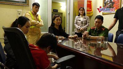 CSGT tìm gia đình giúp bé trai 7 tuổi đi lạc 9 km ở Hà Nội