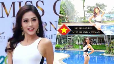 Phương Nga trình diễn bikini tại Miss Grand International: Xuất sắc nhưng vẫn quá lép vế!