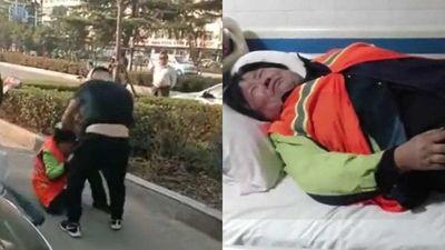 Ngăn cản đứa bé đi vệ sinh bên lề đường, người phụ nữ bị bố đứa bé đánh nhập viện