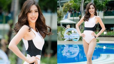 Clip: Á hậu Phương Nga khoe đường cong nóng bỏng ở phần thi áo tắm tại Miss Grand International 2018