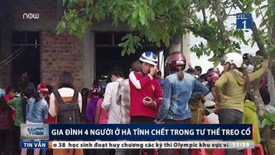 Gia đình 4 người treo cổ tự tử ở Hà Tĩnh: Do hàng xóm dị nghị?