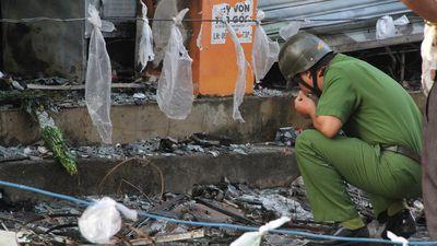 Hiện trường vụ cháy shop hoa khiến 2 cô gái tử vong