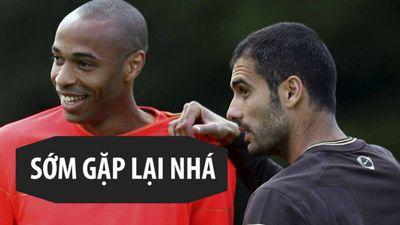 Pep Guardiola chưa bao giờ mất niềm tin vào Thierry Henry
