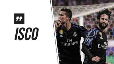 Isco khó chịu khi bị hỏi về Ronaldo