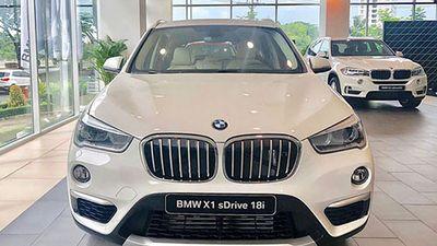 Cận cảnh BMW X1 2018 mới giá 1,8 tỷ tại Sài Gòn