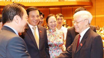 Quốc hội bỏ phiếu kín bầu nhân sự Chủ tịch nước