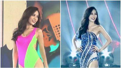 Bùi Phương Nga xử lý cực gọn pha xoay người chông chênh trong đêm bán kết Miss Grand 2018