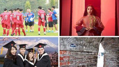 Đội hình tuyển Việt Nam đấu Malaysia; Tiểu Vy hát Lạc Trôi tại Miss World được tìm kiếm nhiều nhất ngày