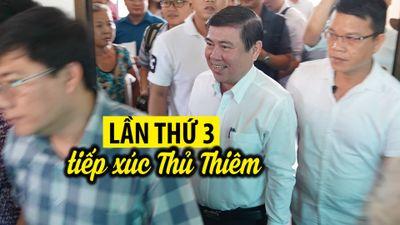 Chủ tịch TP.HCM Nguyễn Thành Phong lần thứ 3 gặp gỡ người dân Thủ Thiêm