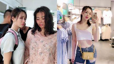 Loạt ảnh Quỳnh Kool ăn mặc sexy táo bạo khác xa so với Đào quê mùa trong phim ' Quỳnh Búp Bê'