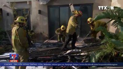 California thuê tù nhân dập cháy rừng