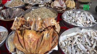 Hãi hùng công nghệ bảo quản cá khô bằng chất làm thuốc trừ sâu