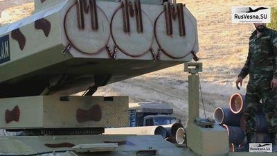 Tên lửa Golan của sư đoàn cơ giới số 4 quyết chôn vùi IS tại al-Safa