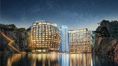 Choáng ngợp khách sạn dưới lòng đất đầu tiên thế giới vừa khai trương