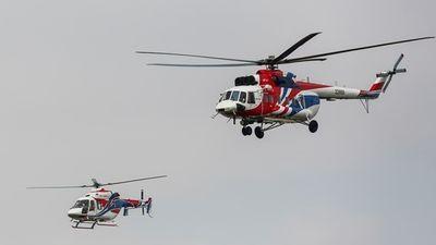 Xem trực thăng quân sự hiện đại nhất của Nga nhào lộn trên bầu trời Hà Nội